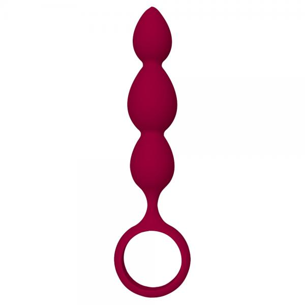 Dream Toys Silky Smooth Teardrop Anal Pl...