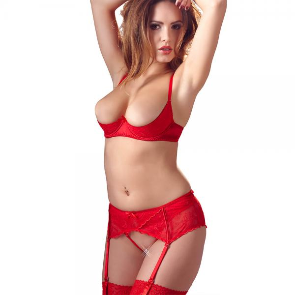 Cottelli Half Cup Red Bra