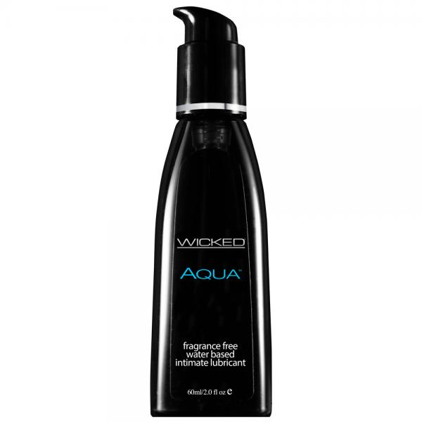 Wicked Aqua Fragrance Free Waterbase Lub...