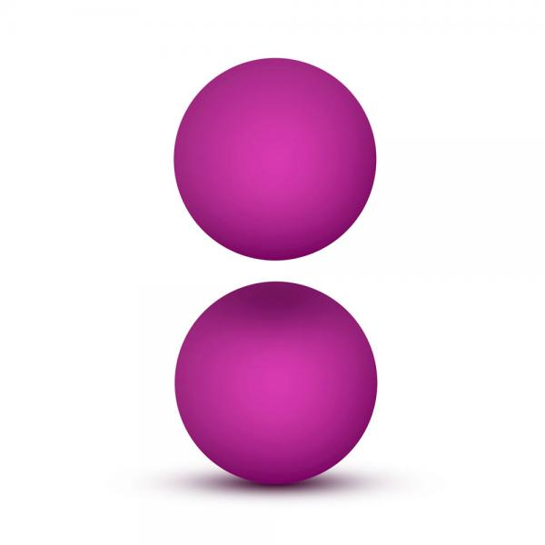 Luxe Pink Double O Kegel Balls Weighted ...