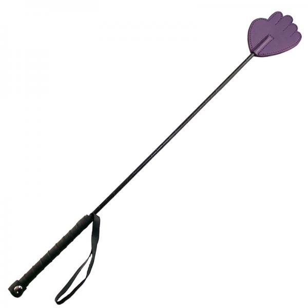 Rouge Garments Hand Riding Crop Purple