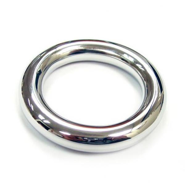 Rouge Stainless Steel Round Cock Ring 40...