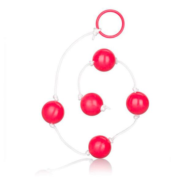 Large Pleasure Anal Beads Assorted Colou...