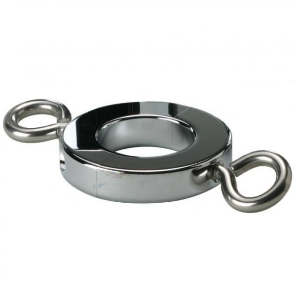 Ball Stretcher Cockring With Hooks 8oz