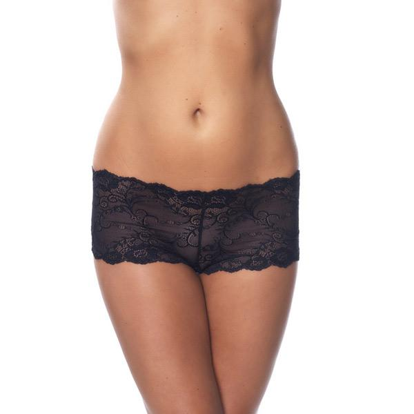 Black Lace Hotpants from Saucy Boutique