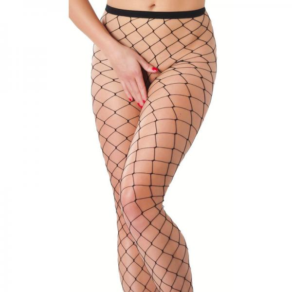 Black Fishnet Tights from Saucy Boutique